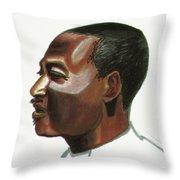 Marc Kadima Throw Pillow