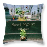 Proust Throw Pillow