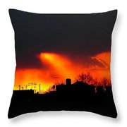March 1 2008 Throw Pillow