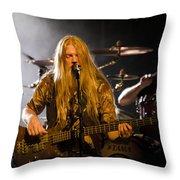 Marco Hietala And Jukka Nevalainen - Nightwish  Throw Pillow