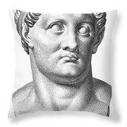 Marcus Salvius Otho Throw Pillow