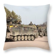 Marder Infantry Fighting Vehicles Throw Pillow