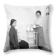 Margaret Sanger, American Social Throw Pillow