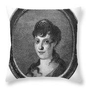 Maria Bonaparte (1750-1836) Throw Pillow