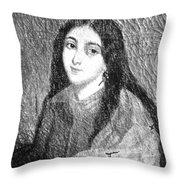 Marie Duplessis Throw Pillow