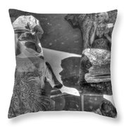 Marilyn's Shadow At Night Throw Pillow
