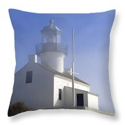 Marine Fog At Pt. Loma Throw Pillow