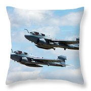 Marine Prowlers Throw Pillow