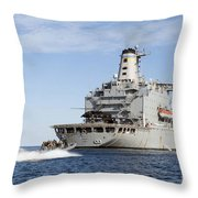 Marines In An Inflatable Boat Head Throw Pillow