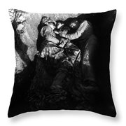 Marines Share A Foxhole With An Orphan Throw Pillow