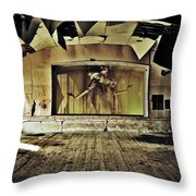 Marionette Moment Throw Pillow