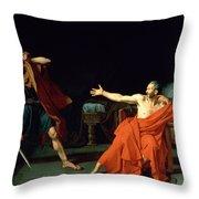 Marius At Minturnae Throw Pillow by Jean-Germain Drouais