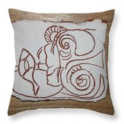 Market Seller 7 Throw Pillow