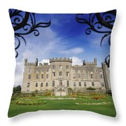 Markree Castle, Collooney, Co Sligo Throw Pillow
