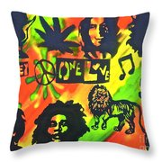 Marley Forever Throw Pillow