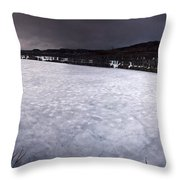 Marmora Mine Throw Pillow