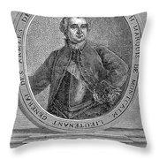 Marquis De Montcalm Throw Pillow