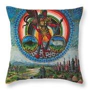 Mars, God Of War Throw Pillow