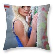 Marsha2 Throw Pillow