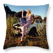 Marsha6 Throw Pillow