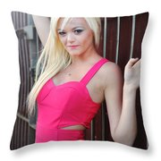 Marsha7 Throw Pillow