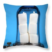 Marshmallows In A Vacuum, 5 Of 5 Throw Pillow