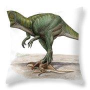 Marshosaurus Bicentesimus Throw Pillow