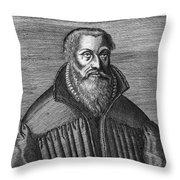 Martin Chemnitz (1522-1586) Throw Pillow