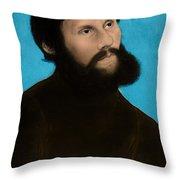 Martin Luther, German Theologian Throw Pillow