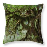 Marvelous Moss Throw Pillow by Heidi Smith