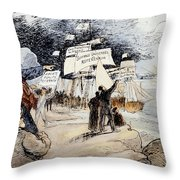 Marxism, C1891 Throw Pillow