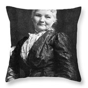 Mary Jones (1830-1930) Throw Pillow