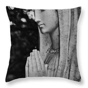 Mary Throw Pillow by Kelly Rader