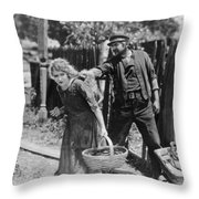 Mary Pickford (1893-1979) Throw Pillow