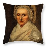 Mary Washington - First Lady  Throw Pillow by International  Images