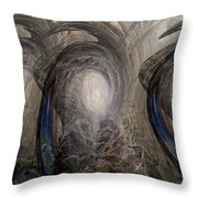 Massive Attack Throw Pillow