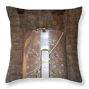 Massive Shiv Lingam Bhojpura Throw Pillow