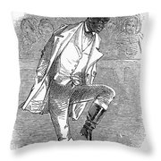 Master Juba (c1825-c1852) Throw Pillow