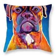 Bullmastiff - Lexi Throw Pillow