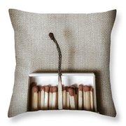 Matches Throw Pillow