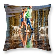 Matching Couples Throw Pillow