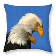 Mated Pair Throw Pillow