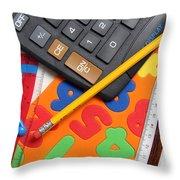 Mathematics Tools Throw Pillow