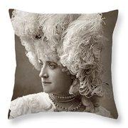 Mathilde Wadman Throw Pillow