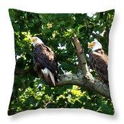 Mating Pair Throw Pillow