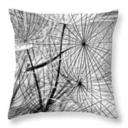 Matrix Monochrome Throw Pillow