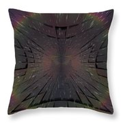Matrix Throw Pillow