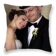 Matt And Jen 01 Throw Pillow