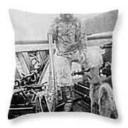 Matthew Henson, African-american Throw Pillow