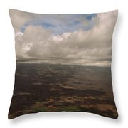 Maui Beneath The Clouds Throw Pillow